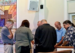 Worship Service with Pastor Don Beachy (7-14-2019) - Prayer (nomad7674) Tags: 2019 20190714 july beacon hill evangelical free church efca monroect monroe ct connecticut worship service sunday prayer team