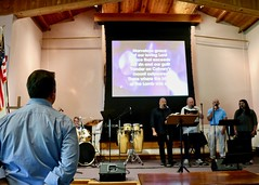 Worship Service with Pastor Don Beachy (7-14-2019) - Closing Hymn (nomad7674) Tags: 2019 20190714 july beacon hill evangelical free church efca monroect monroe ct connecticut worship service sunday