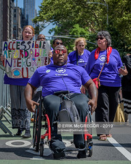 EM-190714-DisabilityPrideNYC-037 (Minister Erik McGregor) Tags: adacompliant accessaride accessdenied accessibility activism americanswithdisabilitiesact andrewcuomo andybyford cidny cidnyfightsback cuomo cuomosmta disability disabilityparade disabilitypride disabilitypridenyc disabilityrightsadvocates elevators erikmcgregor fastforwardplan fixoursubway governorcuomo letusride mta nyc nycsubway nyct nyctransit newyork parade peoplesmta photography pressconference riseandresist subwaystation trainstation transitcenter usa wheelchairaccessible awareness commute discapacity festival inclusion march mobility photojournalism transportation visibility wheelchair 9172258963 erikrivashotmailcom ©erikmcgregor
