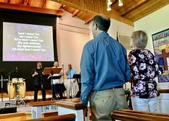 Worship Service with Pastor Don Beachy (7-14-2019) - Musical Worship (nomad7674) Tags: 2019 20190714 july beacon hill evangelical free church efca monroect monroe ct connecticut worship service sunday musical praise music musician musicians song sing singers singer singing hymn spiritual offertory offering ushers
