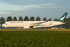 B-LRU   A359   CATHAY PACIFIC   EHAM (Ashley Stevens images) Tags: amsterdam schiphol airport eham ams canon eos aircraft aeroplane aviation civil airplane blru