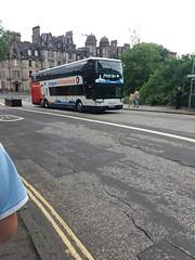 Stagecoach 50236 - Private Hire (fbologna98) Tags: edinburgh stagecoach coach coaches longdistance expressbus privatehire charter van hool td927 astromega