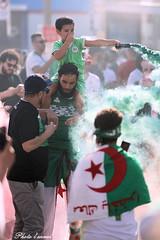 Algérie 2 - Nigéria 1, demie finale coupe d'Afrique (photolenvol) Tags: algérie petitmaghreb arabe foot soccer sport compétition evenement festivités montreal
