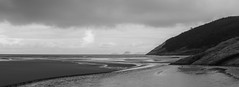 Norman Bay, Wilson's Promontory National Park. (petebond_au) Tags: norman bay winter wilsons prom nature bw sea sand rocks