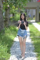 Kiki Fong (玩家) Tags: portrait girl female prime model glamour outdoor taiwan 85mm taipei kiki 台灣 台北 fong 人像 外拍 師大附中 2019 正妹 d610 模特兒 定焦 戶外 無後製 無修圖