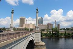 Springfield, Massachusetts (Stephen St-Denis) Tags: springfield massachusetts hampden county memorial bridge