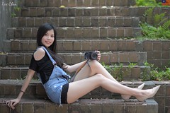 Kiki Fong (玩家) Tags: 2019 台灣 台北 師大附中 人像 外拍 正妹 模特兒 戶外 定焦 無後製 無修圖 taiwan taipei portrait glamour model girl female kiki fong outdoor d610 85mm prime