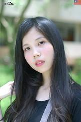 Kiki Fong (玩家) Tags: 2019 台灣 台北 師大附中 人像 外拍 正妹 模特兒 戶外 定焦 無後製 無修圖 taiwan taipei portrait glamour model girl female kiki fong outdoor d40x 50mm prime
