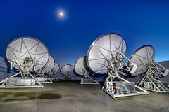 AMI Small array (Nigel Blake, 18.5 MILLION views! Many thanks!) Tags: ami smallarray mrao radio astronomy science cosmology radiotelescope moon stars longexposure