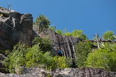 Jenelle's Climbapalooza (wa2wider) Tags: wawa ontario canada climb climbing ranwick rock montreal river emilys wall cwall gopro nikon d800