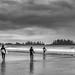 long beach (dark afternoon summer clouds...) (c.turzak...) Tags: longbeach tofino bc beach westcoast vancouverisland surfing bw