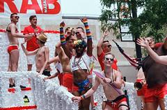 Chicago Pride Parade (spablab) Tags: chicago canon ae1 zoom fd 70210mm fuji fujifilm superia 400 gay pride parade memphisfilmlab lgbt lgbtq lesbian bisexual transgender