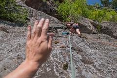 Jenelle's Climbapalooza (wa2wider) Tags: wawa ontario climb climbing montreal river top rope jenelle climbapalooza nikon gopro wa2wider
