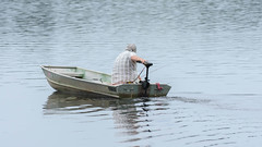 Boater (Maggggie) Tags: takeaim boater water lakehorton relax