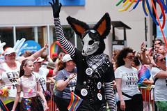Chicago Pride Parade (spablab) Tags: chicago canon fuji zoom ae1 superia fujifilm fd 70210mm gay pride parade 400 memphisfilmlab lesbian transgender lgbt bisexual lgbtq