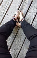 IMG_20190714_122754131~2 (eirenna_unveiled) Tags: foot feet sandals toes polishedtoes polishedtoenails legs