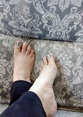 IMG_20190714_124525367~2 (eirenna_unveiled) Tags: foot feet barefoot barefeet polishedtoes polishedtoenails legs