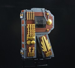 R-Wing (davekaleta) Tags: lego spaceship space steampunk alphabet letter starfighter