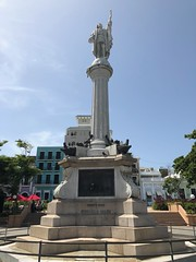 Cristobal Colon (Girl Least Likely To) Tags: puertorico island summer vacation oldsanjuan
