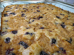 Blue Berry Buckle. (dccradio) Tags: lumberton nc northcarolina robesoncounty indoor indoors inside cake buckle blueberry blueberrybuckle coffeecake freshbaked food eat sweet dessert treat yum july weekend summer summertime sunday evening goodevening sundayevening canon powershot elph 520hs