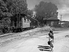 Timeless And Priceless @ Haydenville (dtrohdenburg) Tags: kids hockingvalley scenicrailway caboose steam depot haydenville ohio hockinghills