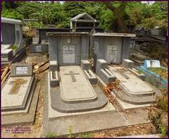Cirebon Catholic Cemetery 20190328_103224 DSCN4222 (CanadaGood) Tags: color colour indonesia java asia seasia westjava indonesian asean cirebon javanese 2019 canadagood thisdecade cemetery grave catholic cross