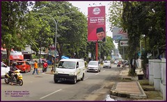 Cirebon Java Streets 20190328_101455 DSCN4221 (CanadaGood) Tags: color colour building indonesia java asia seasia westjava indonesian asean cirebon javanese 2019 canadagood thisdecade tree sign advertising traffic