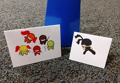 Ninja Guards by E.K. and C.C. for Acts 28 (judy_jowers) Tags: acts 28 children bible study story