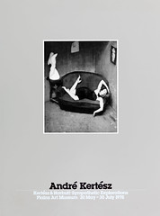 Original Andrè Kertèsz photography poster for the Kertèsz & Harbutt photo exhibition Sympathetic Explorations at the Plains Art Museum in Moorhead, Minnesota 20 May - 30 July 1978 - graphic design by Murray Lemley (thstrand) Tags: art women woman murraylemley 1970s 1978 20thcentury american americans andrekertesz antique bw blackwhite blackandwhite broadside business charlesharbutt communications exhibit exhibition exhibitions exhibits famousperson famousphoto historicpeople historicperson history mn minnesota moorhead old photo photographer photographers photography photos plainsartmuseum poster posters printedmedia satiricdancer sympatheticexplorations us usa unitedstatesofamerica vintage