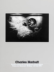 Original Charles Harbutt photography poster of A La Fourchette, New York, 1974 for the Kertész & Harbutt photo exhibition Sympathetic Explorations at the Plains Art Museum in Moorhead, Minnesota 20 May - 30 July 1978 - graphic design by Murray Lemley (thstrand) Tags: old blackandwhite bw usa history minnesota vintage poster photography us photo blackwhite photographer photos antique unitedstatesofamerica photographers exhibit exhibition business exhibitions american posters americans 1978 1970s 20thcentury mn exhibits communications famousperson moorhead broadside andrekertesz printedmedia famousphoto historicperson historicpeople plainsartmuseum charlesharbutt sympatheticexplorations woman art fan artwork women visualarts murals wallmural murraylemley paintings painting newyork 1974 graphicdesign alafourchette