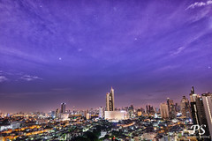 15jul19morning-1 (Paniwat) Tags: morning skyline cityscape stars bangkok thailand happyplanet asiafavorites