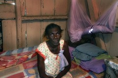 DR10407 (Glenn Losack M.D.) Tags: dominican dominicana slums barrios barrio bajos pobreza poverty poor blind ciego shacks living huts heat calor la republica san pedro de macoris