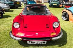 Ferrari 246 Dino Outlaw (Hunter J. G. Frim Photography) Tags: supercar london concours ferrari 246 dino outlaw red rosso v12 manual classic ferrari246dino