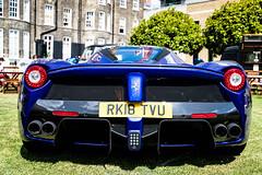 Ferrari LaFerrari (Hunter J. G. Frim Photography) Tags: supercar london concours ferrari laferrari blu elettrico v12 hybrid hypercar blue italian carbon coupe limited rare ferrarilaferrari