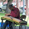 Jarrelle Barton, guzheng (Chinese zither) at Red Hot Art Festival 2019