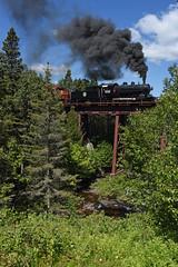 Missabe 332 at Palmers (CN Southwell) Tags: dmir missabe steam locomotive norh shore scenic mn minnesota 2019