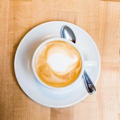 First Things First (Thomas Hawk) Tags: bayarea california eastbay gastropig oakland usa unitedstates unitedstatesofamerica westcoast cappuccino coffee restaurant fav10