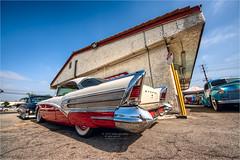 1958 buick special (pixel fixel) Tags: 1958 buick mooneyesopenhouse norwalk redandwhite special specialrivierahardtop tweakedpixels ©2019kathygonzalez