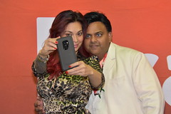 Tera Patrick taking selfie with one of her super fans (hootervillefan) Tags: tera patrick terapatrick 2019 exxxotica chicago porn star expo hot sexy legend asian
