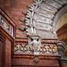 barcelona bat (Karol Franks) Tags: barcelona spain architecture brickwork tile bat detail arc de triomf arcodetriunfodebarcelona spanish