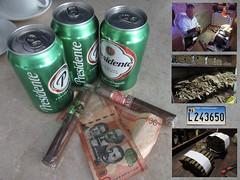 El Jefe (chet711) Tags: cigar presidente dominicanrepublic cerveza dominicanpeso