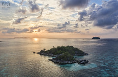 Island Sunrise (All About Light!) Tags: thailand islands aerial drobne dronephotography fromabove landscapes travel sunrise