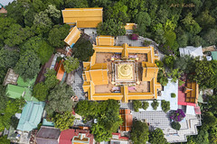 Temple Mandala (All About Light!) Tags: thailand islands aerial drobne dronephotography fromabove landscapes travel