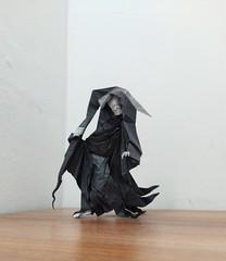 Grim Reaper (Lê Huỳnh Đức) Tags: origami art paper death grimreaper