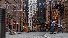Stone Street, WallStreet, NYC (Jorge Ibacache) Tags: nyc stonestreet sonya7iii