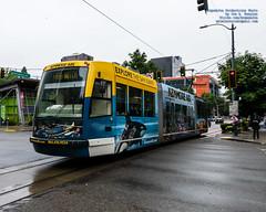 .@KenmoreAir Seattle Streetcar Running the Streets of Seattle (AvgeekJoe) Tags: d7500 dslr kingcounty nikon nikond7500 seattle seattlestreetcar southlakeunionline southlakeuniontrolley usa washington washingtonstate masstransit publictransit publictransportation streetcar tram urbanrail