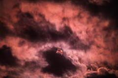 Un cuarto de Eclipse (enquepc) Tags: luna sol eclipse photo nubes fotografia fotos nikon 300mm naturaleza