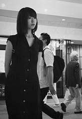 Waiting in the station (Bill Morgan) Tags: fujifilm fuji xpro2 23mm f2 bw jpeg acros alienskin exposurex4