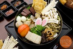 招牌臭臭豬肉鍋 + 沾酱 (trendygourmet) Tags: steamboat hotpot taiwan taiwanese meat set sauce sripetaling kl kualalumpur