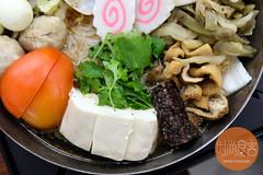 臭豆腐+米血糕+大肠 (trendygourmet) Tags: steamboat hotpot taiwan taiwanese meat set sauce sripetaling kl kualalumpur